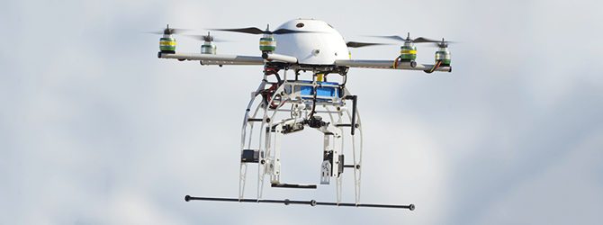 uav gps helps this drone navigate
